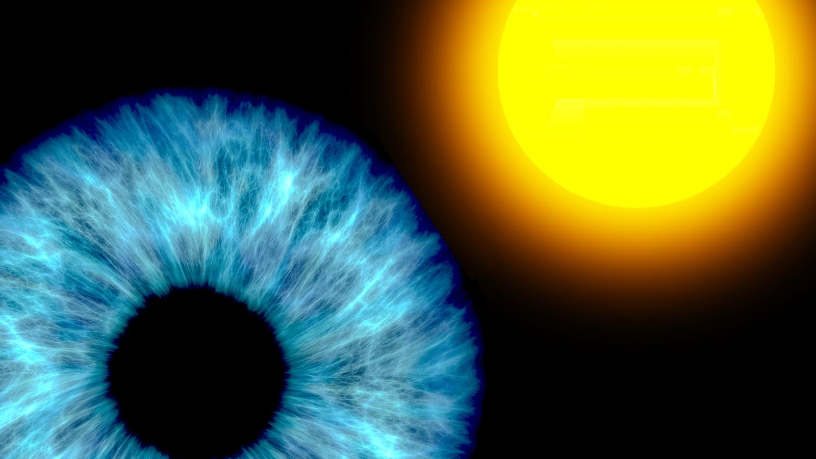 Nell'occhio del fotone